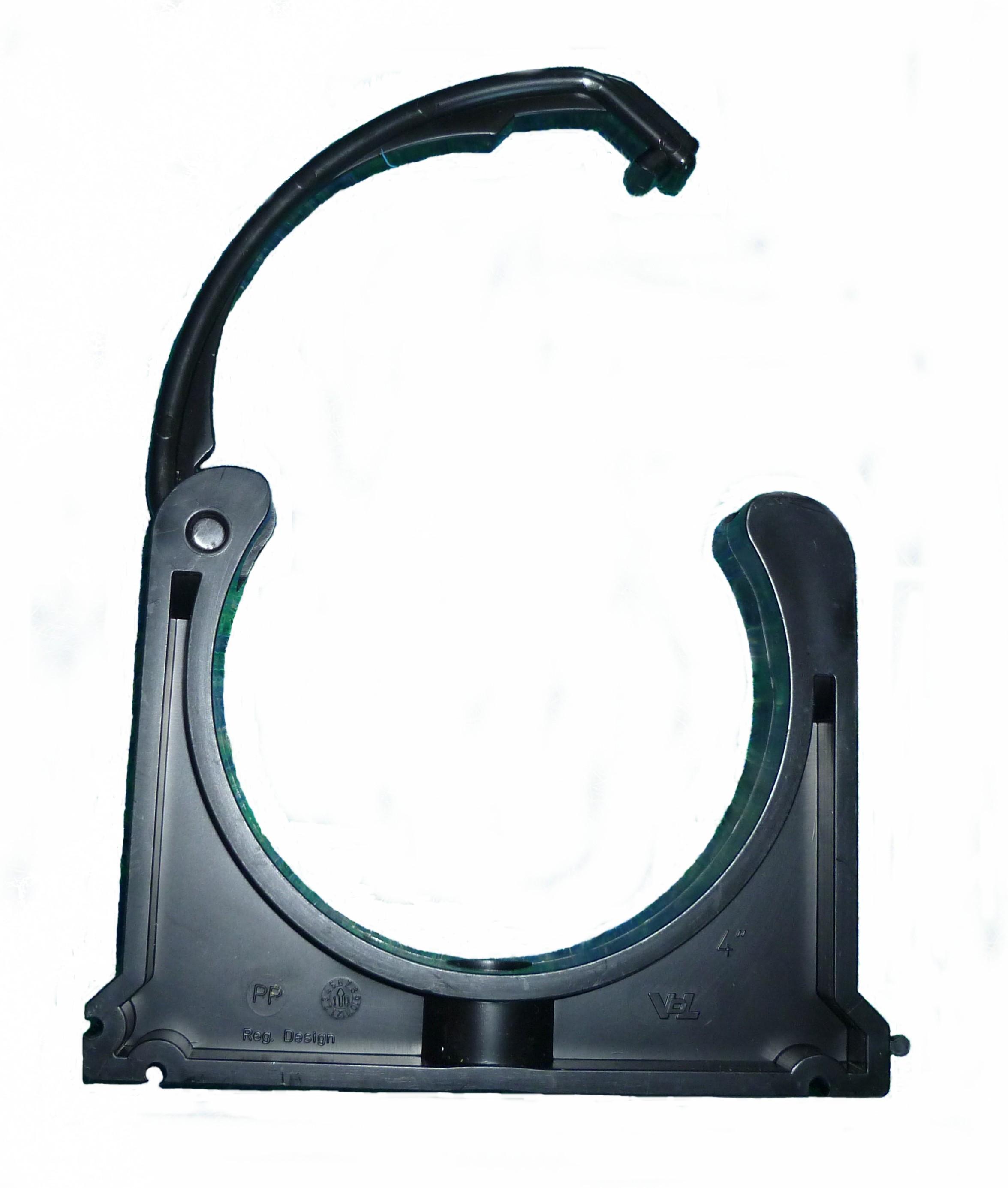 Brownrig supplies pipe clips type ptd pvcu